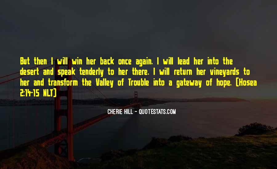 Win Her Back Sayings #743080