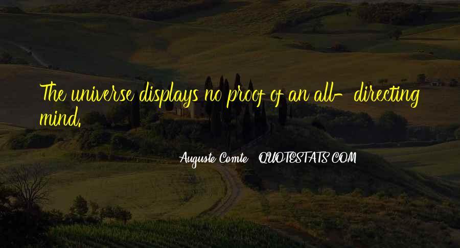 Auguste Comte Sayings #1219840