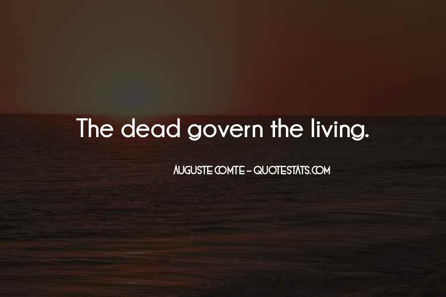 Auguste Comte Sayings #136933