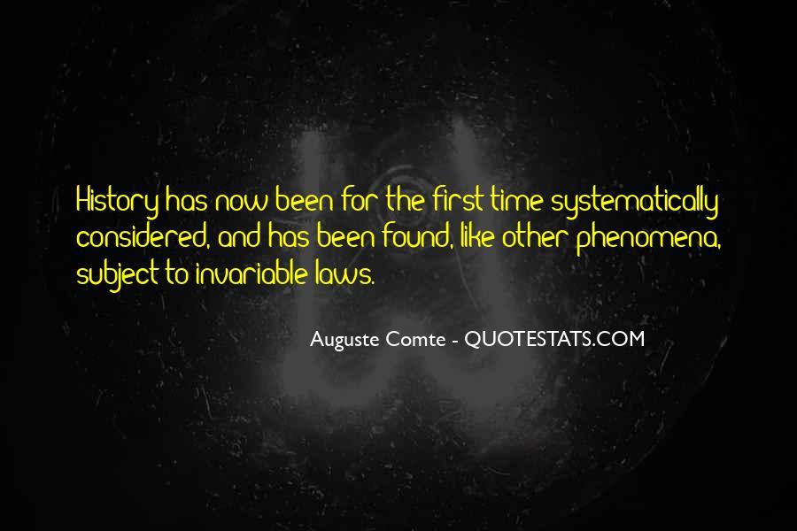 Auguste Comte Sayings #1410132