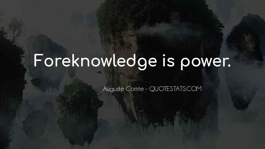 Auguste Comte Sayings #1438991