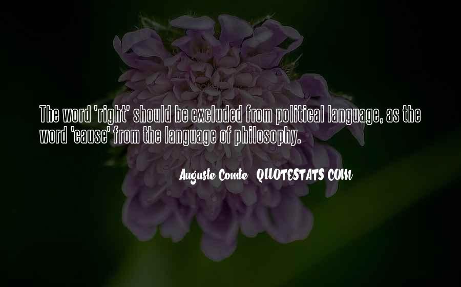 Auguste Comte Sayings #1440051