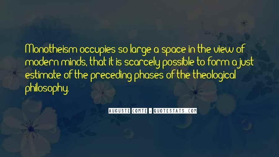 Auguste Comte Sayings #1864702