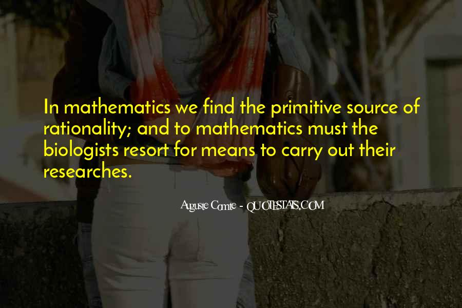 Auguste Comte Sayings #265070