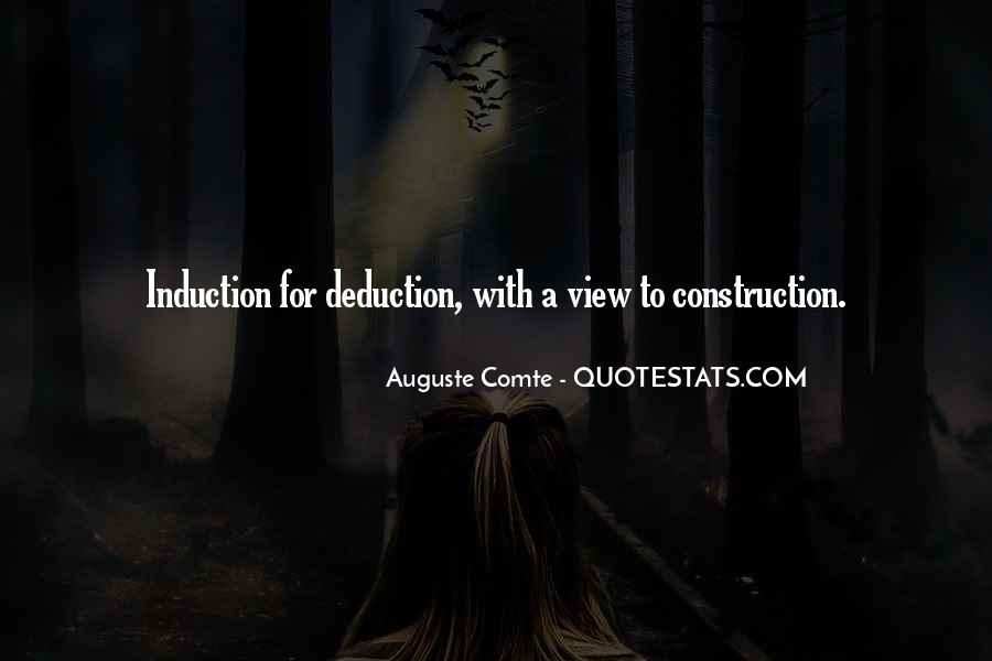 Auguste Comte Sayings #347395