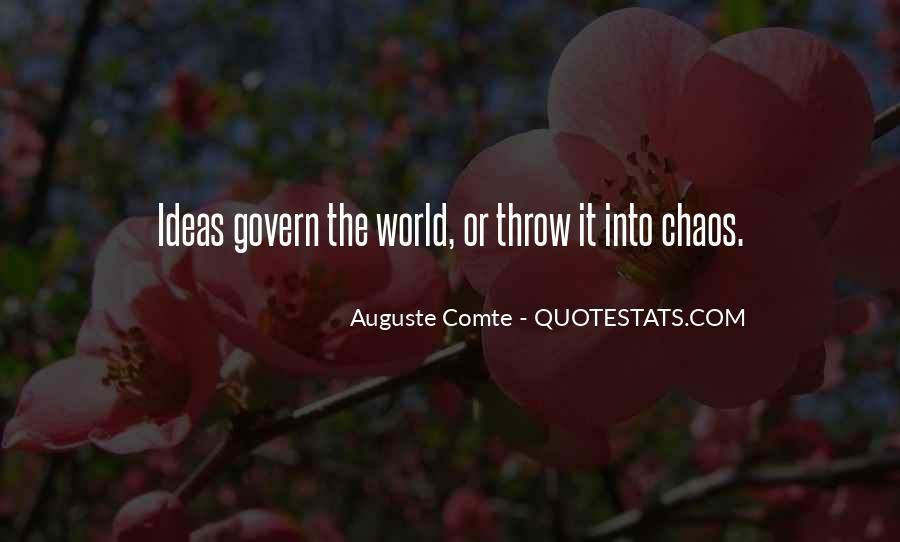 Auguste Comte Sayings #532785