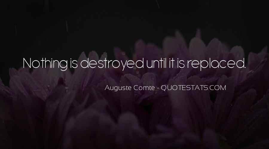 Auguste Comte Sayings #758481