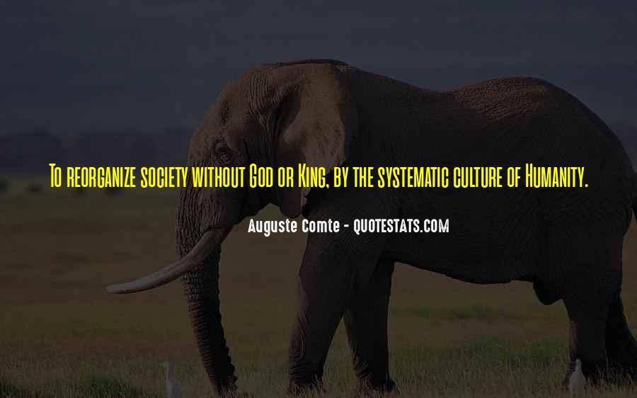 Auguste Comte Sayings #778454