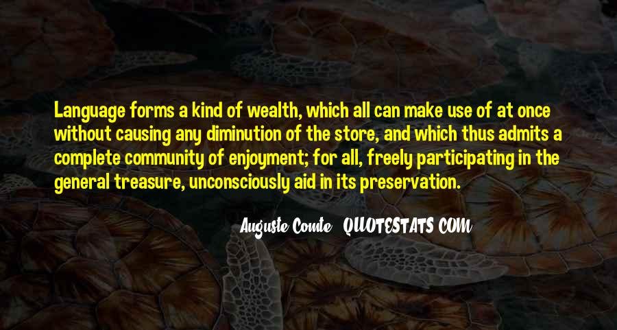 Auguste Comte Sayings #854970