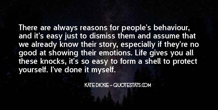 Quotes About Showing Emotions #1021510