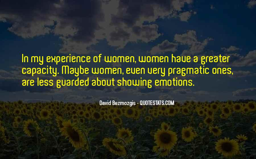 Quotes About Showing Emotions #1141631