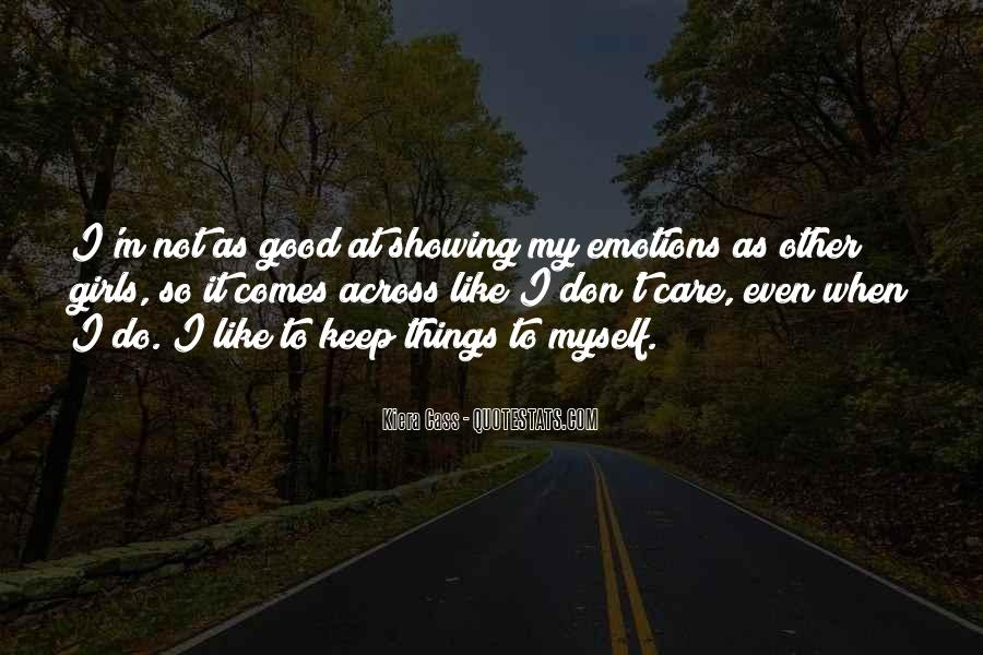 Quotes About Showing Emotions #1805714