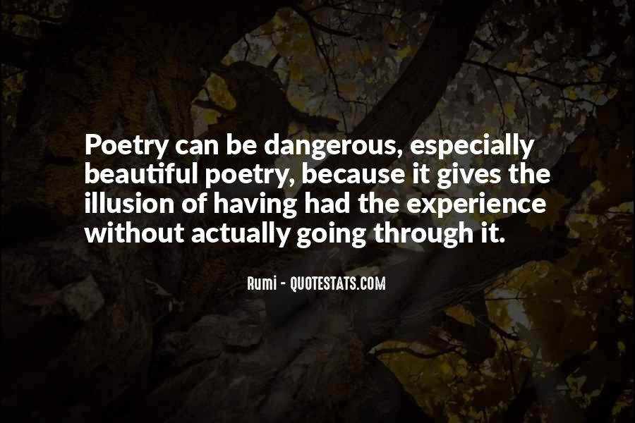 Dangerous Quotes And Sayings #1169057