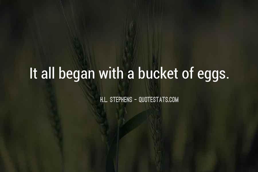Eggs Quotes Sayings