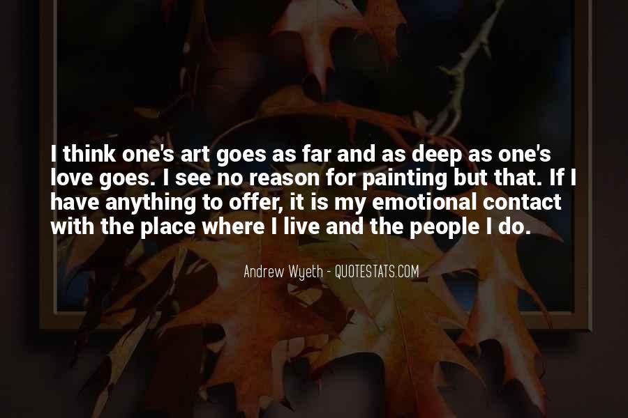 Deep Emotional Love Sayings #1264446