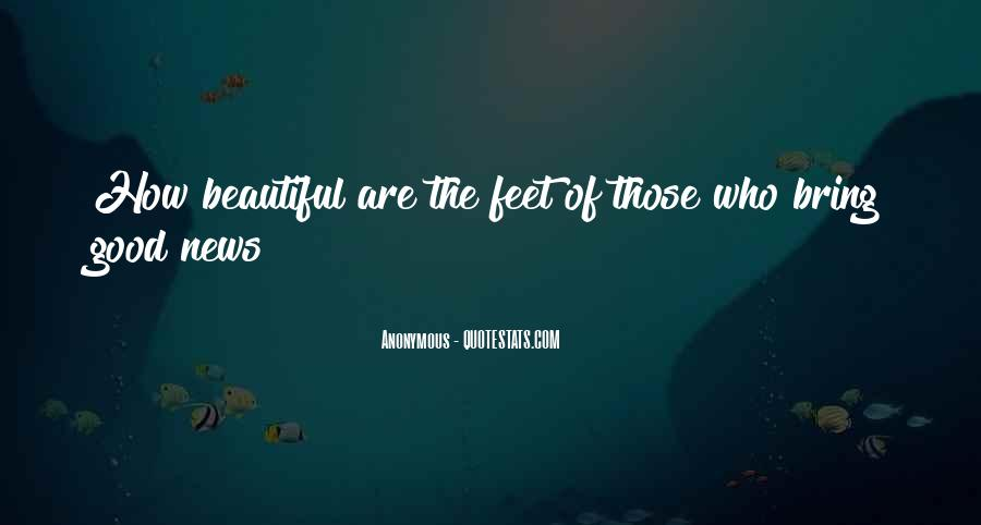 Beautiful Feet Sayings #711384