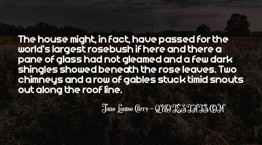 Glass House Sayings #948473