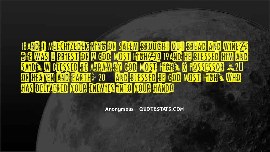 Hand Of God Sayings #115358