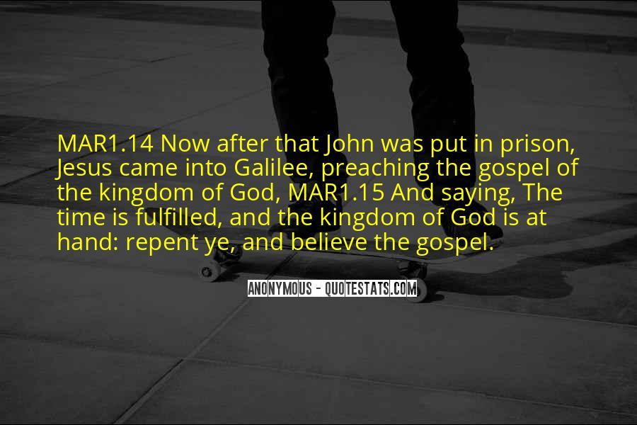 Hand Of God Sayings #118556
