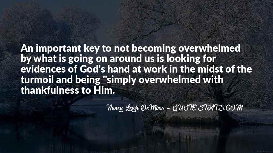 Hand Of God Sayings #128275