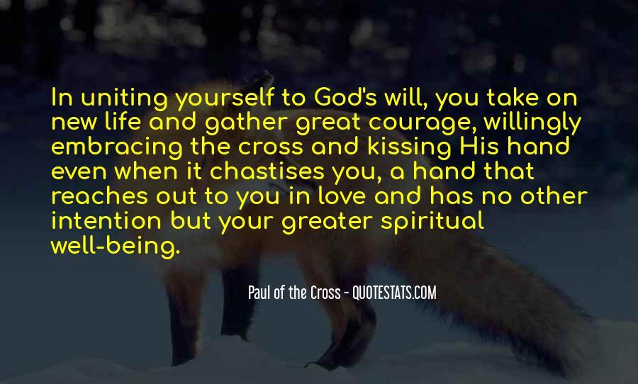 Hand Of God Sayings #135468