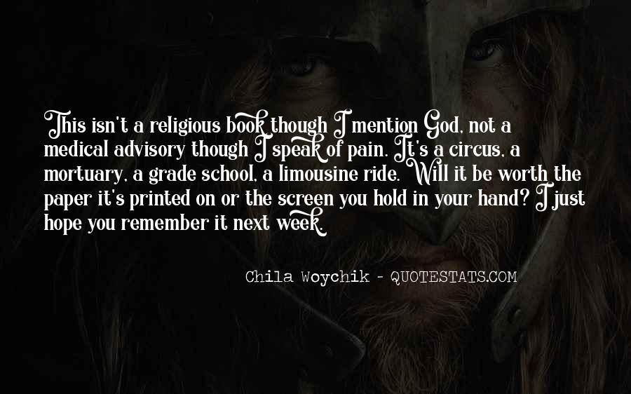 Hand Of God Sayings #14345