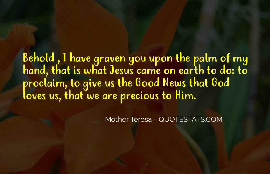 Hand Of God Sayings #188110