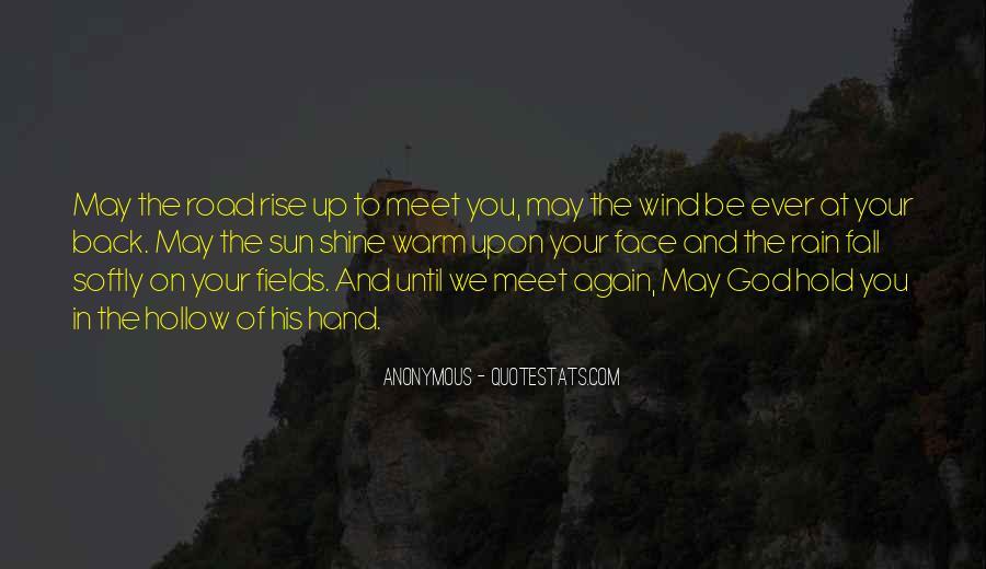 Hand Of God Sayings #233642