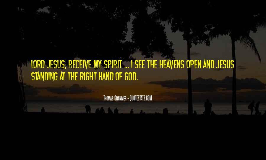 Hand Of God Sayings #235606