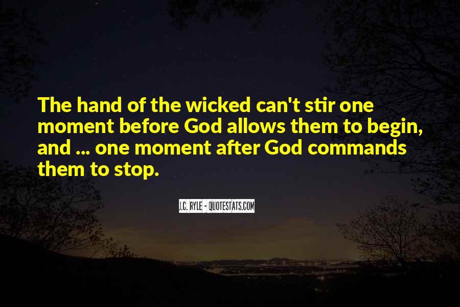 Hand Of God Sayings #243026