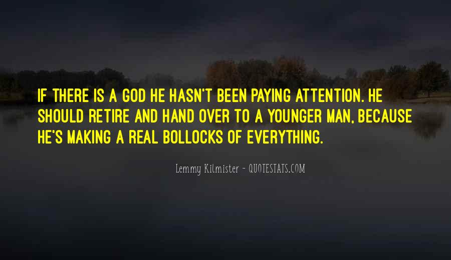 Hand Of God Sayings #249008