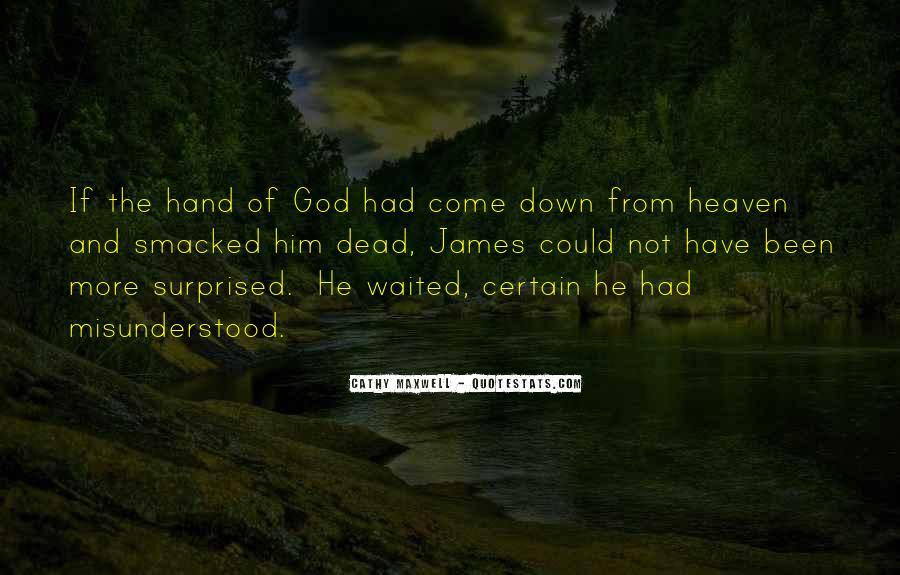 Hand Of God Sayings #267338