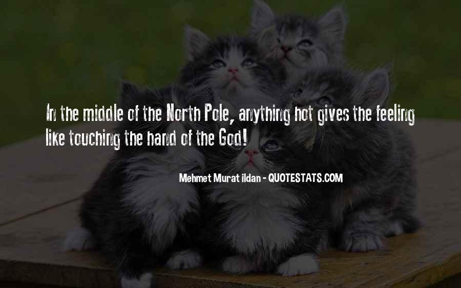 Hand Of God Sayings #288977