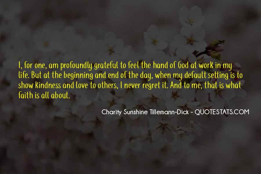 Hand Of God Sayings #304586