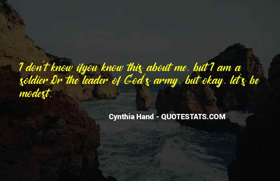 Hand Of God Sayings #337696
