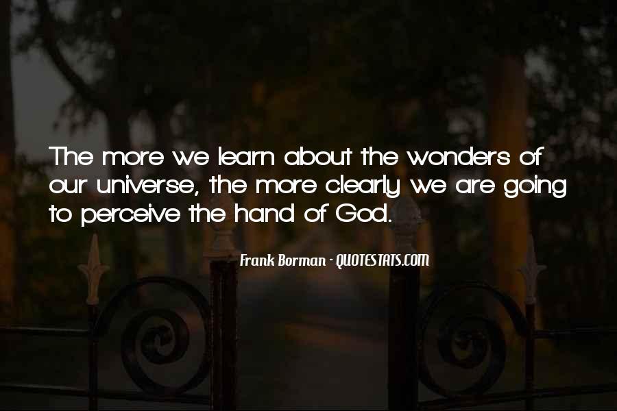 Hand Of God Sayings #347591