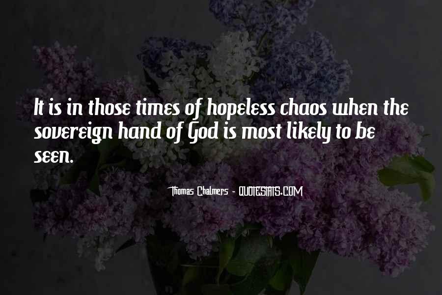 Hand Of God Sayings #35287