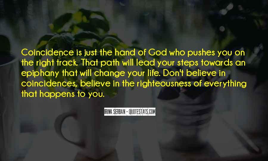 Hand Of God Sayings #360586