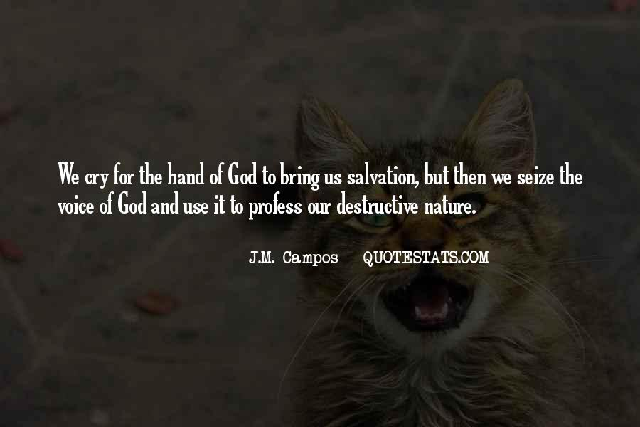 Hand Of God Sayings #360989