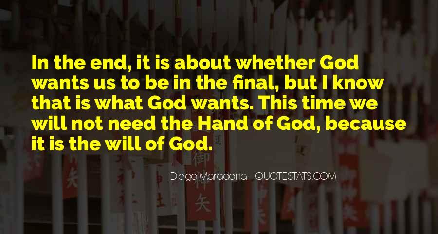 Hand Of God Sayings #385200