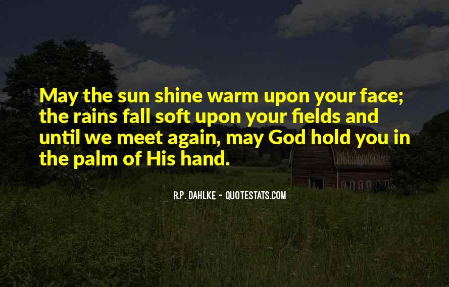 Hand Of God Sayings #417604