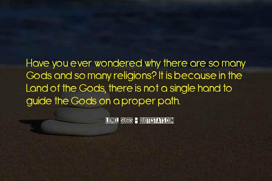 Hand Of God Sayings #418360