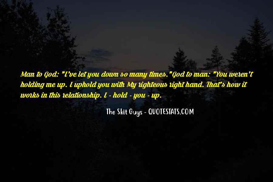 Hand Of God Sayings #62956