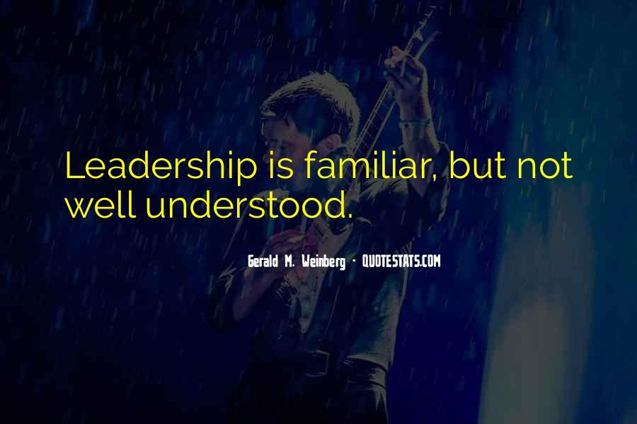 Management Leader Sayings #1001501