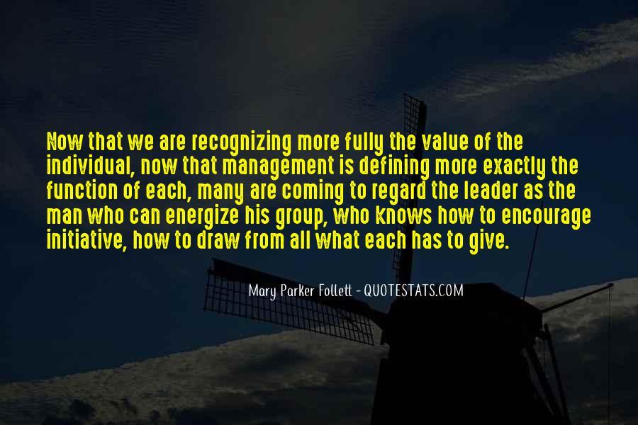 Management Leader Sayings #1005939