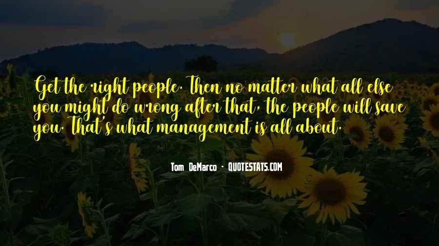 Management Leader Sayings #1195205