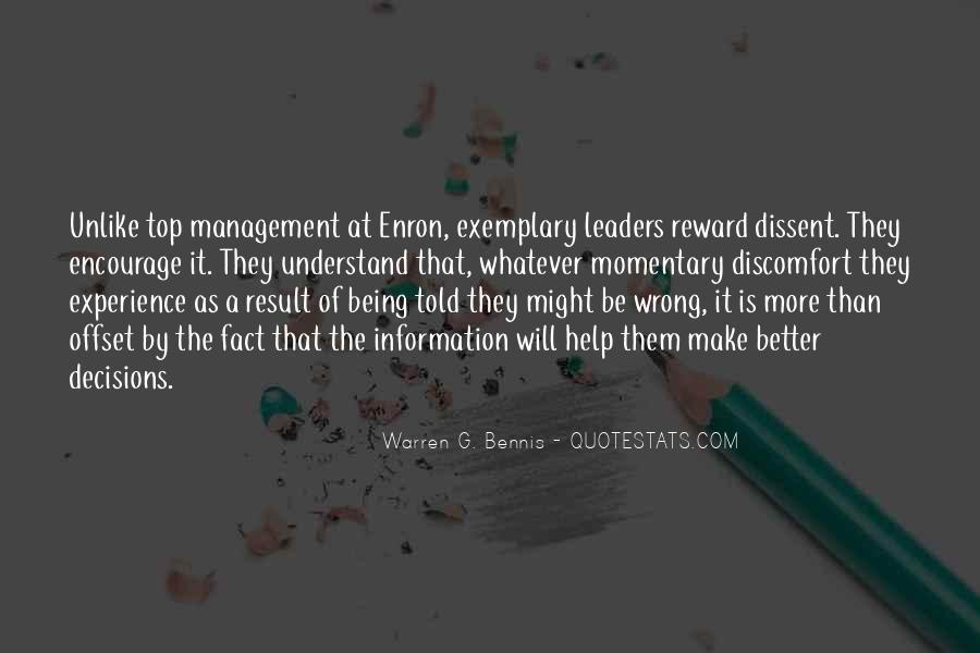 Management Leader Sayings #1285934