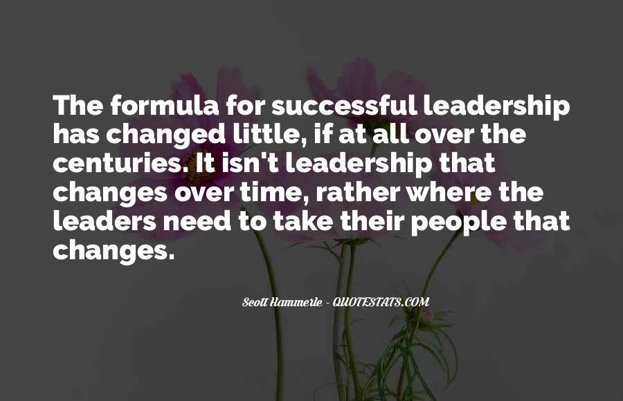 Management Leader Sayings #1426510
