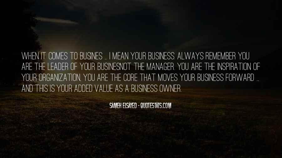 Management Leader Sayings #1528198