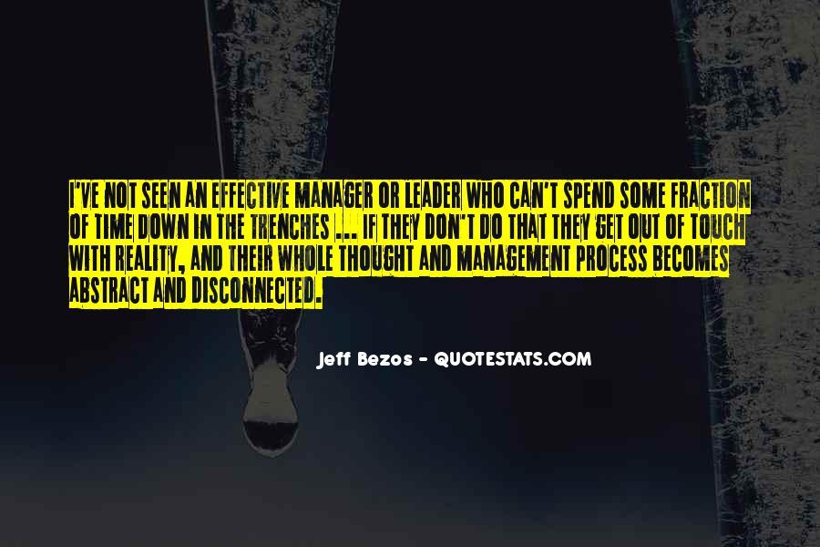 Management Leader Sayings #1592153
